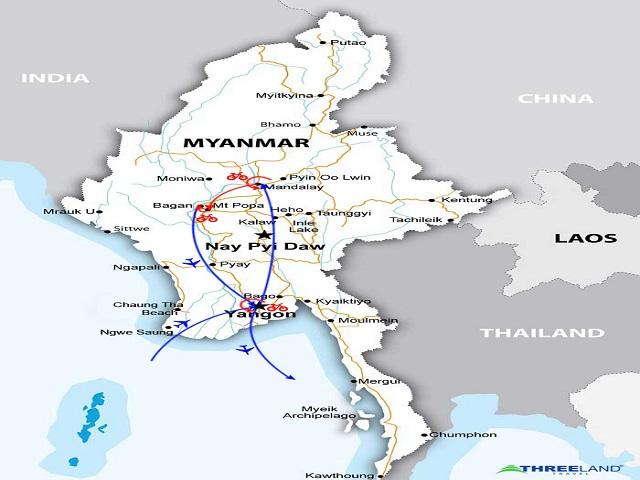 MYANMAR ON THE ROAD