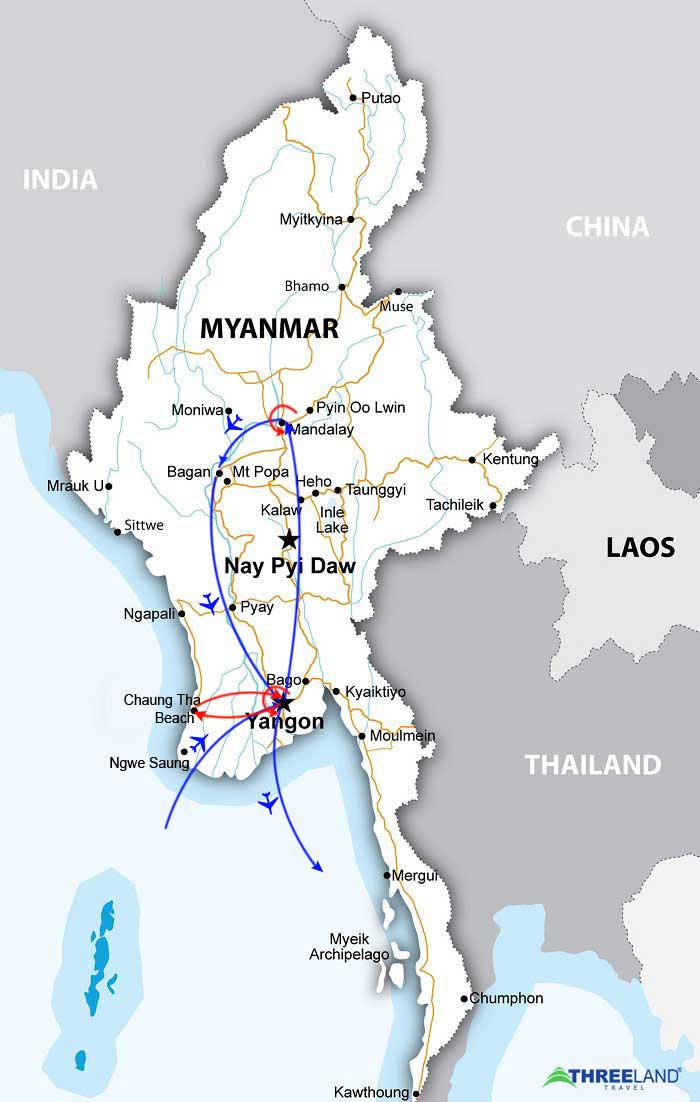 MYANMAR REAL HOLIDAY