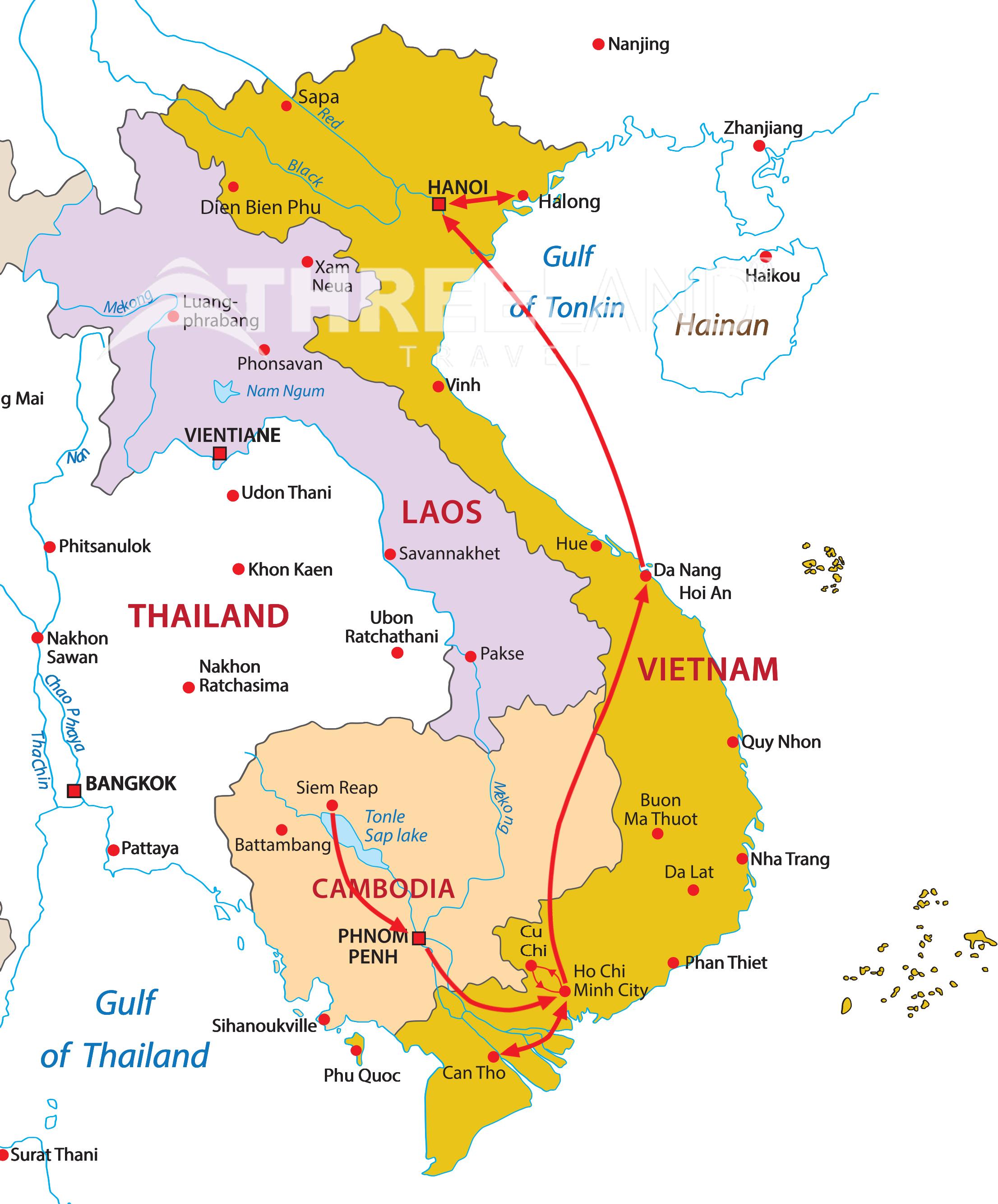 Cambodia - Vietnam combination (set departure)