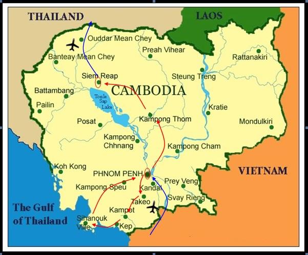 DISCOVER SOUTHEAST CAMBODIA