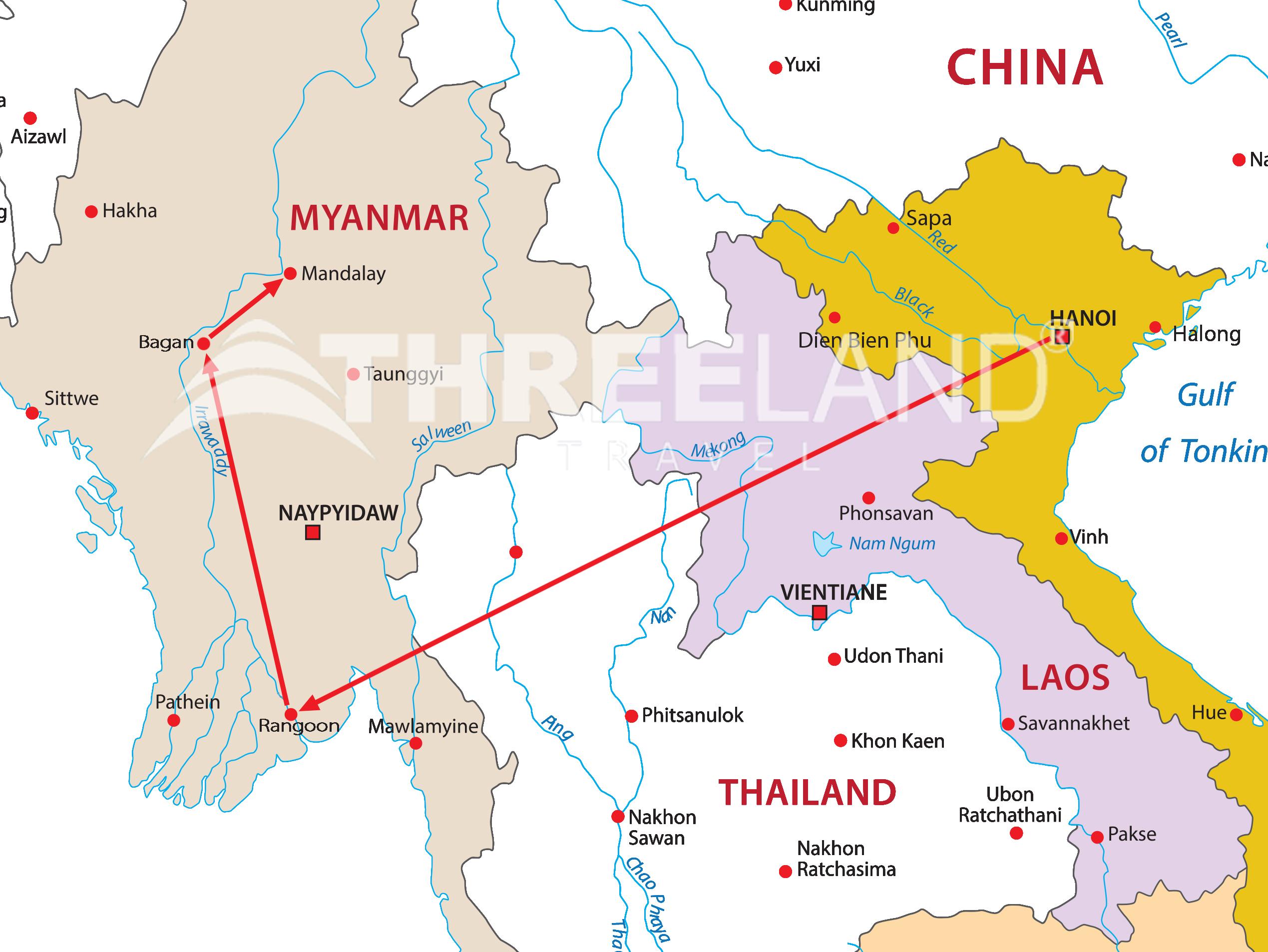 The best of Vietnam and Myanmar