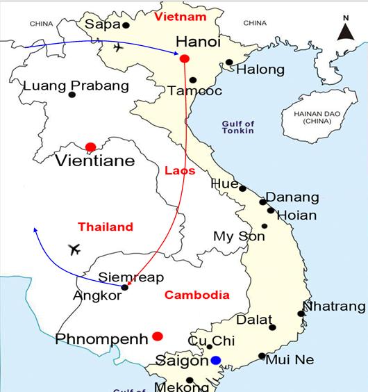 BEST OF VIETNAM AND CAMBODIA