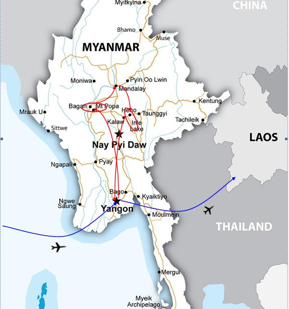ROMANTIC JOURNEY IN MYANMAR