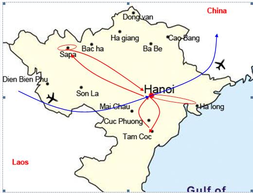 HONEYMOONERS DEEP IN THE NORTH OF VIETNAM
